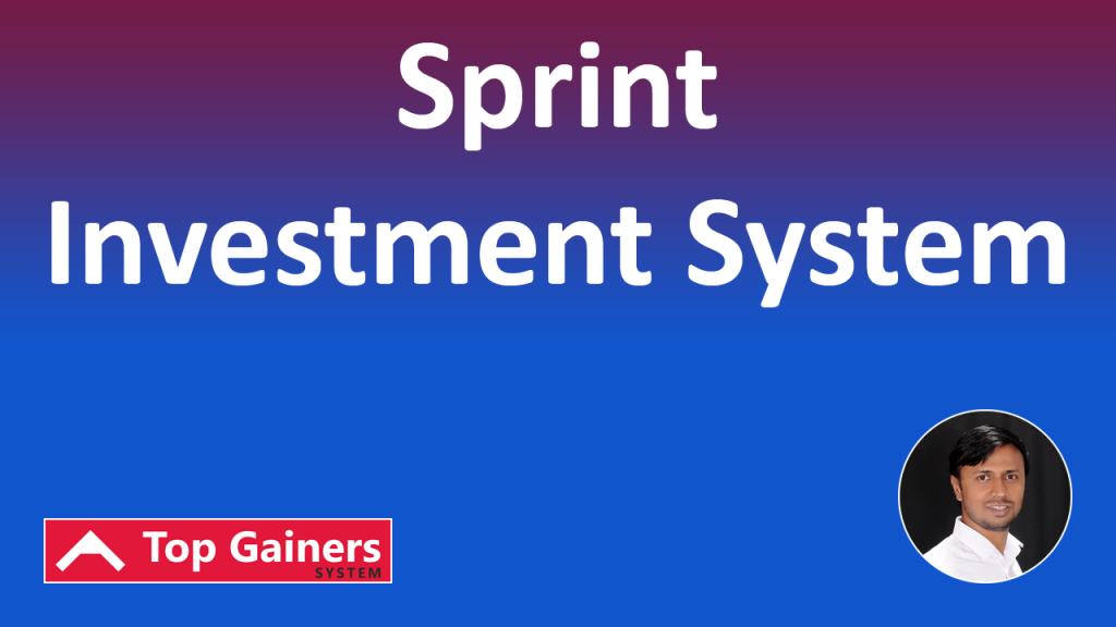 Top Gainers Sprint Investment System